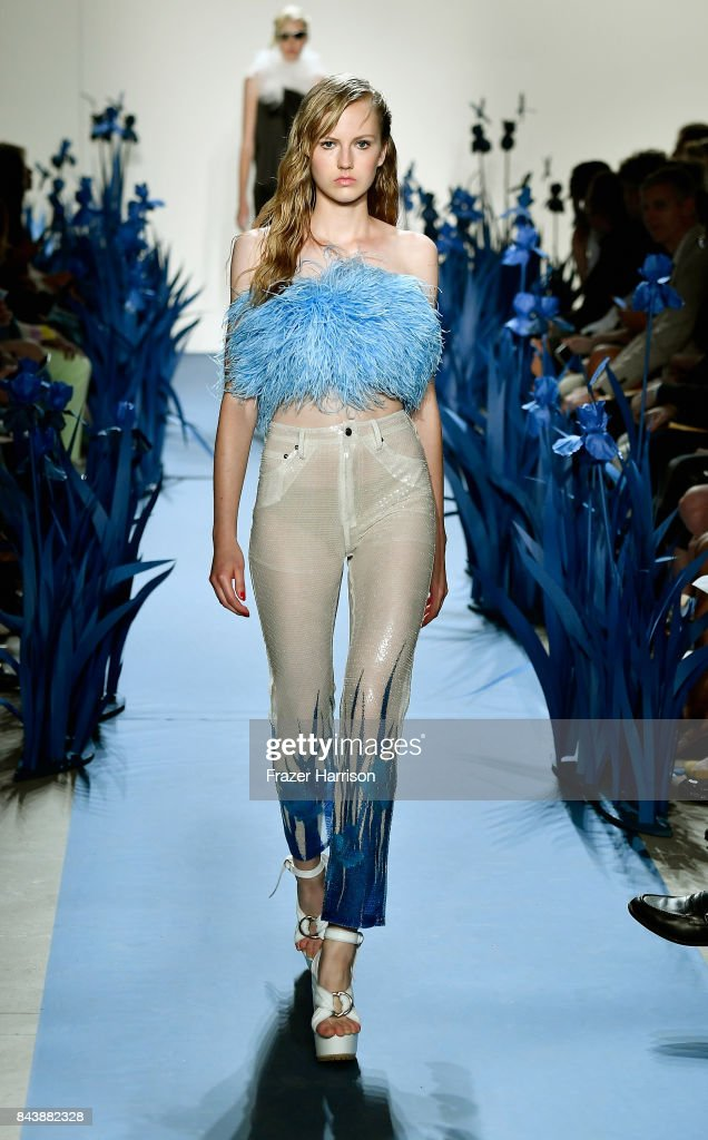 model-walks-the-runway-for-adam-selman-fashion-show-during-new-york-picture-id843882328