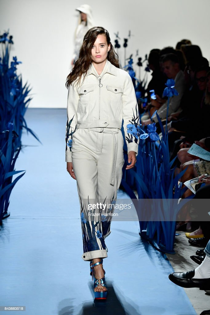 model-walks-the-runway-for-adam-selman-fashion-show-during-new-york-picture-id843883518