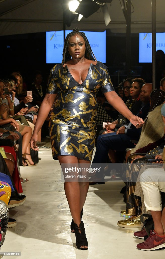model-walks-the-runway-for-kimberly-goldson-fashion-show-a-part-of-picture-id843636484