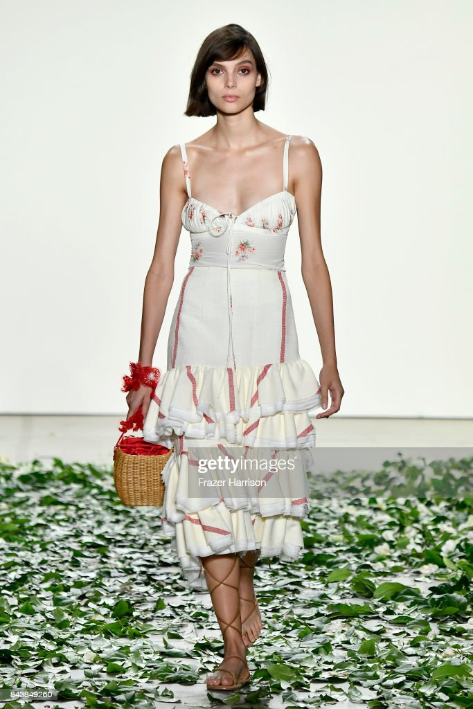 model-walks-the-runway-for-the-brock-collection-fashion-show-during-picture-id843849260