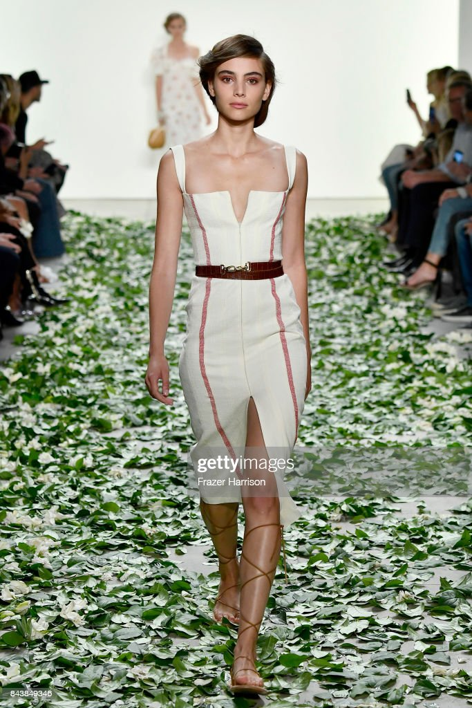 model-walks-the-runway-for-the-brock-collection-fashion-show-during-picture-id843849346