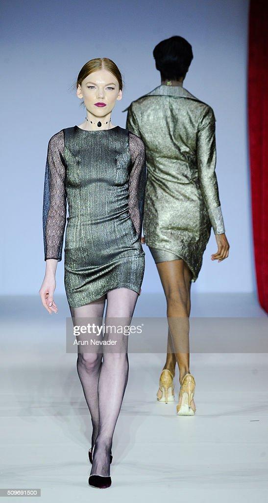 Raul Penaranda Runway Fall 2016 New York Fashion Week Getty Images