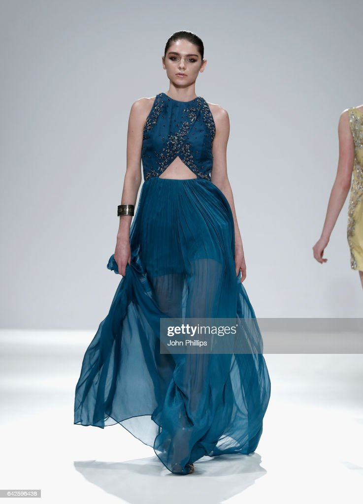 model-walks-the-runway-wearing-a-design-by-zuria-dor-at-the-fashion-picture-id642596438