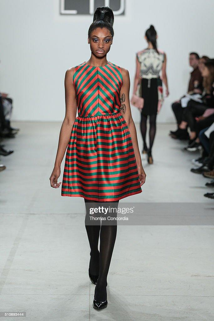 Dan Liu - Runway - Fall 2016 New York Fashion Week Photos and ...