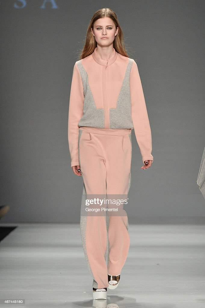 World MasterCard Fashion Week Fall 2015 Collections - Melissa Nepton