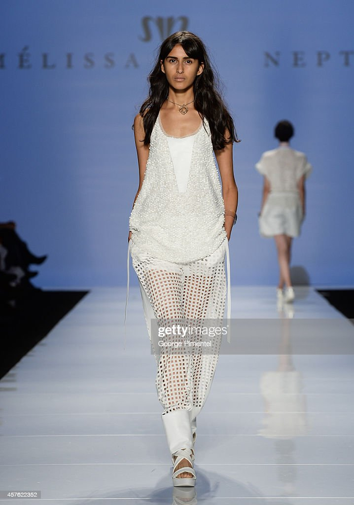 World MasterCard Fashion Week Spring 2015 Collections In Toronto - Melissa Nepton - Runway