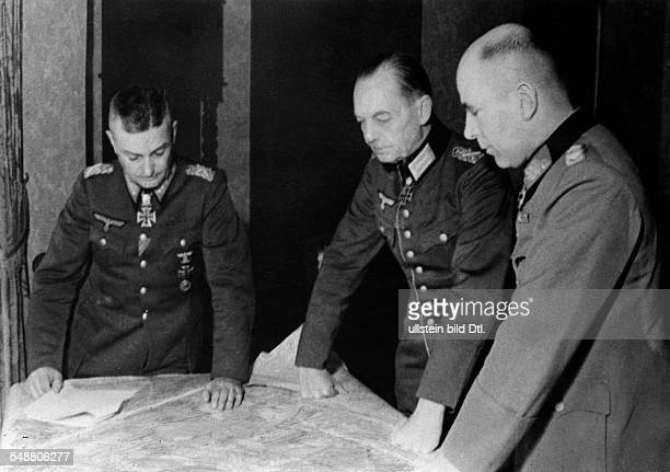 Model Walter General Field Marshal Germany *24011891 GERMAN COMMANDERS 1944 German field marshal Walter Model Supreme Commander of Army Group B...