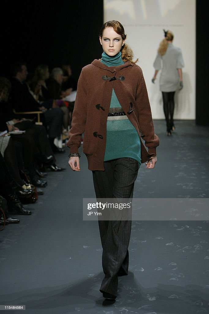 Model wearing 12th Street by Cynthia Vincent Fall 2007