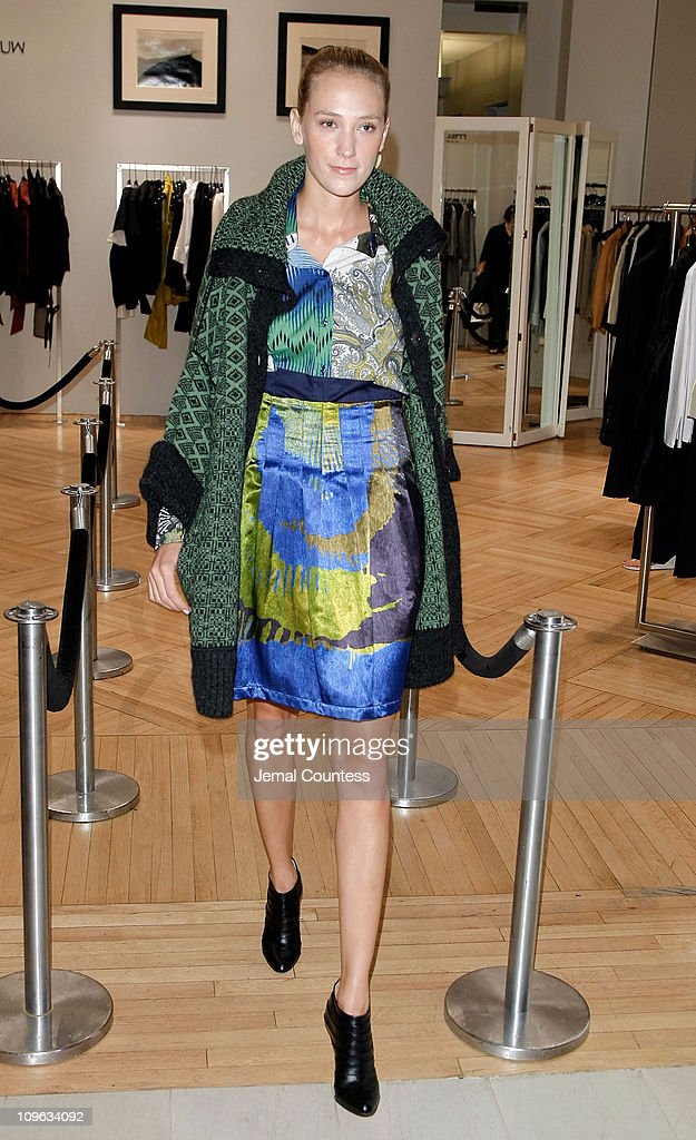 Model wearing Missoni at the Saks & Harper's Bazaar Celebration of Falls Most Elevated Collections on Two at Saks Fifth Avenue on September 25, 2008 in New York City.