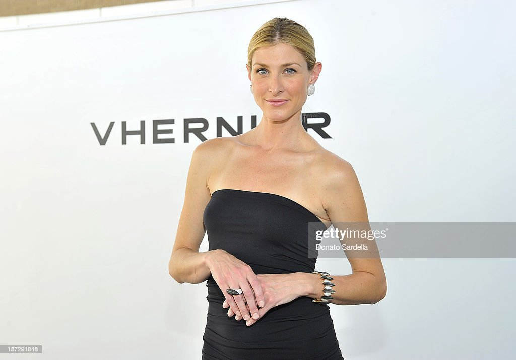 Model wearing Vhernier Jewelry at the Vhernier luncheon hosted by Jennifer Hale from C Magazine at Gagosian Gallery on November 7, 2013 in Beverly Hills, California.