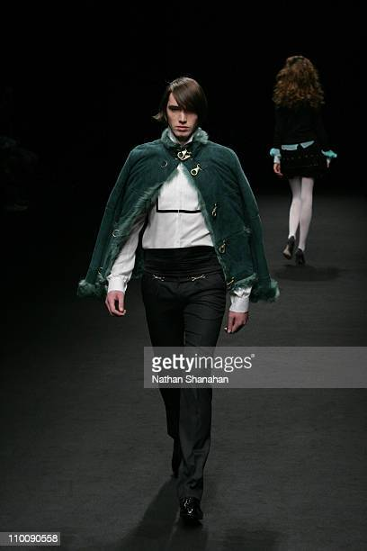 Model wearing Ylang Ylang Autumn/Winter 2006 during Tokyo Fashion Week Autumn/Winter 2006 Ylang Ylang Runway at Meiji Jingu Memorial Picture Gallery...