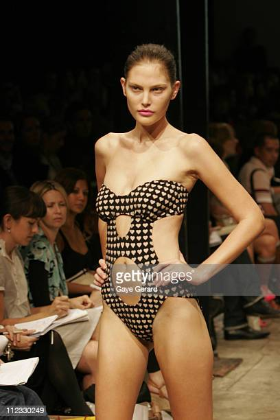 Model Wearing Zimmerman Spring/Summer 2006 Designs