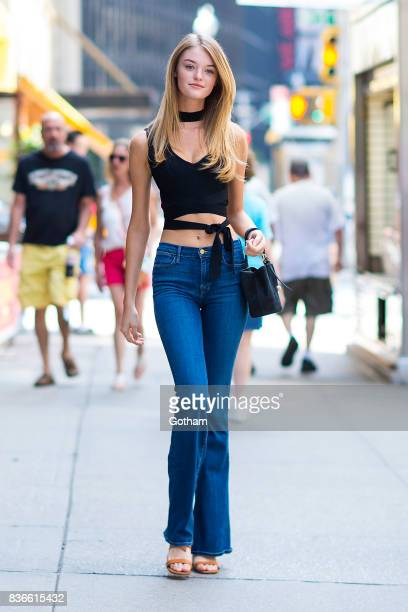 Model Willow Hand attends call backs for the 2017 Victoria's Secret Fashion Show in Midtown on August 21 2017 in New York City