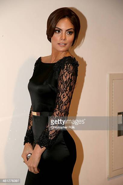 Model Ximena Navarrete arrives at the 14th Annual Latin GRAMMY Awards held at the Mandalay Bay Convention Center on November 21 2013 in Las Vegas...