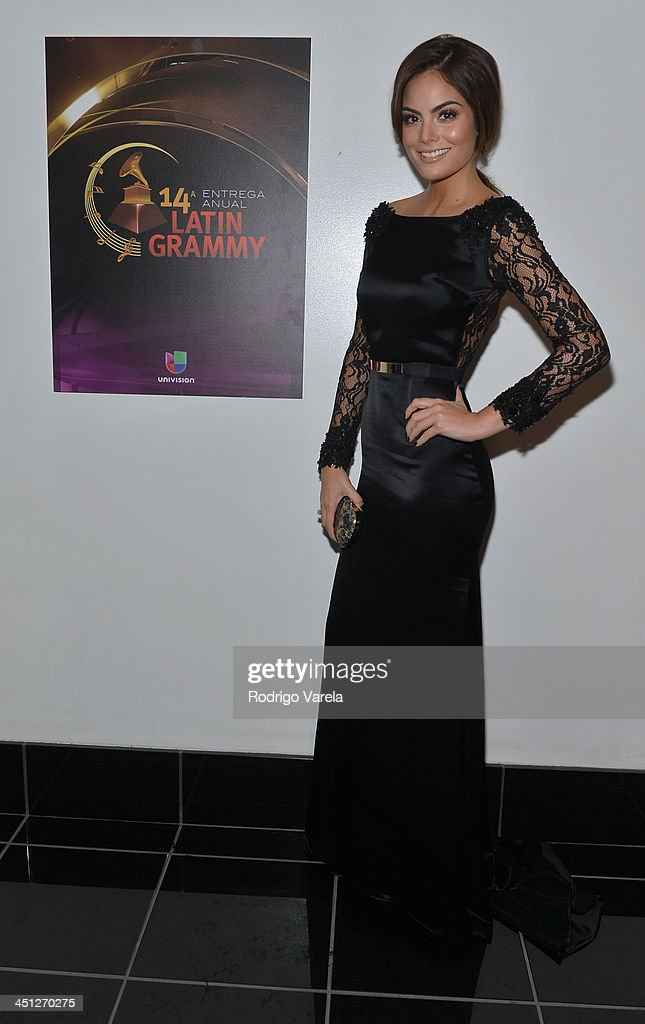 Model Ximena Navarrete attends The 14th Annual Latin GRAMMY Awards at the Mandalay Bay Events Center on November 21, 2013 in Las Vegas, Nevada.