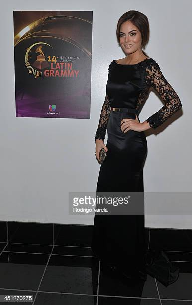 Model Ximena Navarrete attends The 14th Annual Latin GRAMMY Awards at the Mandalay Bay Events Center on November 21 2013 in Las Vegas Nevada