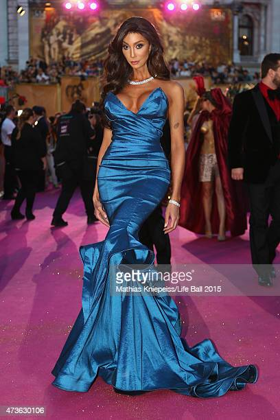 Model Yasmine Petty attends the Life Ball 2015 at City Hall on May 16 2015 in Vienna Austria