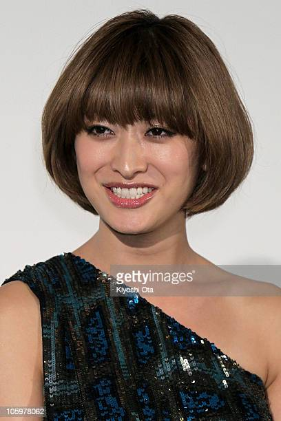 Model Yu Yamada attends the 'Tron Legacy' 3D special presentation as part of the 23rd Tokyo International Film Festival at Toho Cinemas Roppongi...