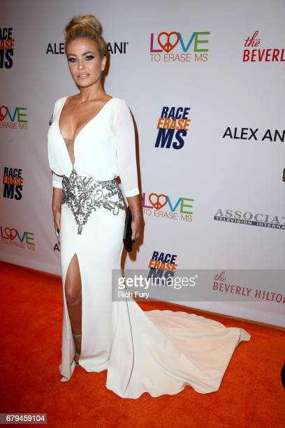 Model/Actor Carmen Electra attends the 24th Annual Race To Erase MS Gala at The Beverly Hilton Hotel on May 5 2017 in Beverly Hills California