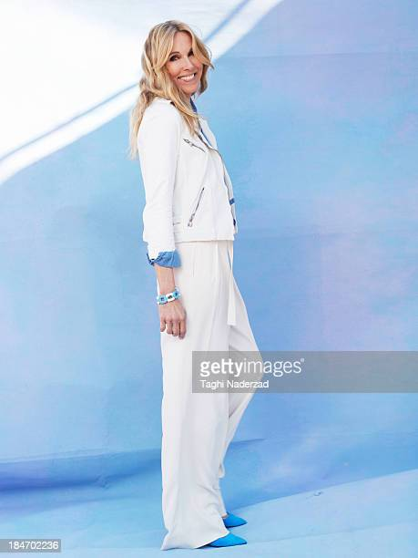 Model/actress Alana Stewart is photographed for Oprah Magazine on February 20 2013 in Los Angeles California