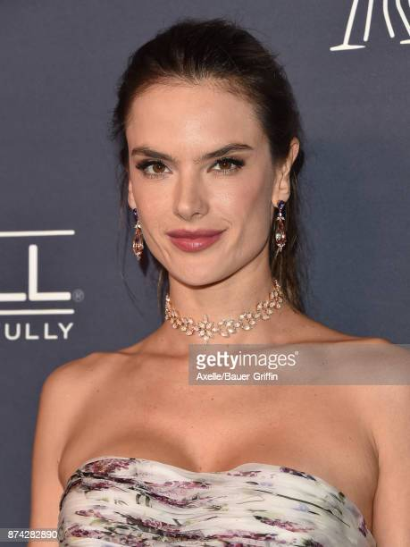 Model/actress Alessandra Ambrosio attends the 2017 Baby2Baby Gala at 3LABS on November 11 2017 in Culver City California