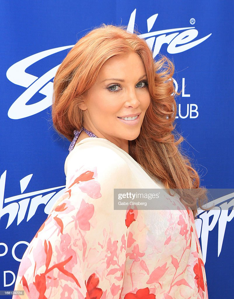 Model/actress Angelica Bridges arrives at the Sapphire Pool & Day Club grand opening party on May 5, 2013 in Las Vegas, Nevada.