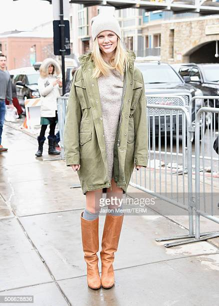 Model/actress Brooklyn Decker is seen during the Sundance Film Festival on January 24 2016 in Park City Utah