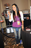 Model/actress Candace Kita at The Hollywood Show held at The Westin Hotel LAX on January 24 2015 in Los Angeles California