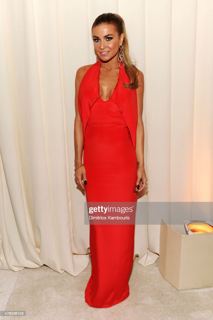 Model/actress Carmen Electra attends the 22nd Annual Elton John AIDS Foundation Academy Awards Viewing Party at The City of West Hollywood Park on March 2, 2014 in West Hollywood, California.