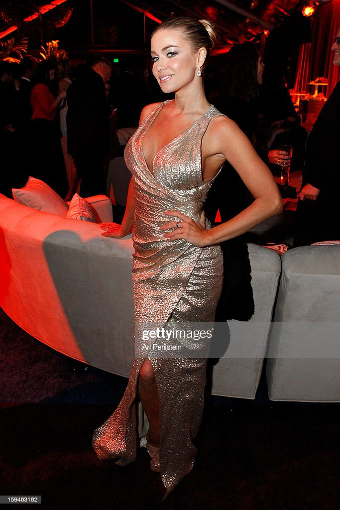 Model/actress Carmen Electra attends the The Weinstein Company's 2013 Golden Globe Awards after party presented by Chopard, HP, Laura Mercier, Lexus, Marie Claire, and Yucaipa Films held at The Old Trader Vic's at The Beverly Hilton Hotel on January 13, 2013 in Beverly Hills, California.