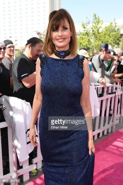 Model/actress Carol Alt attends the 2017 NHL Awards at TMobile Arena on June 21 2017 in Las Vegas Nevada