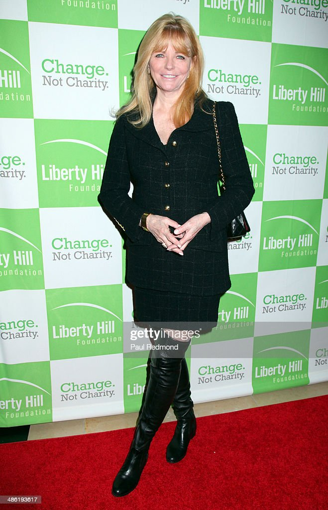 Model/actress <a gi-track='captionPersonalityLinkClicked' href=/galleries/search?phrase=Cheryl+Tiegs&family=editorial&specificpeople=211403 ng-click='$event.stopPropagation()'>Cheryl Tiegs</a> arriving at Liberty Hill Foundation's Annual Upton Sinclair Dinner at The Beverly Hilton Hotel on April 22, 2014 in Beverly Hills, California.