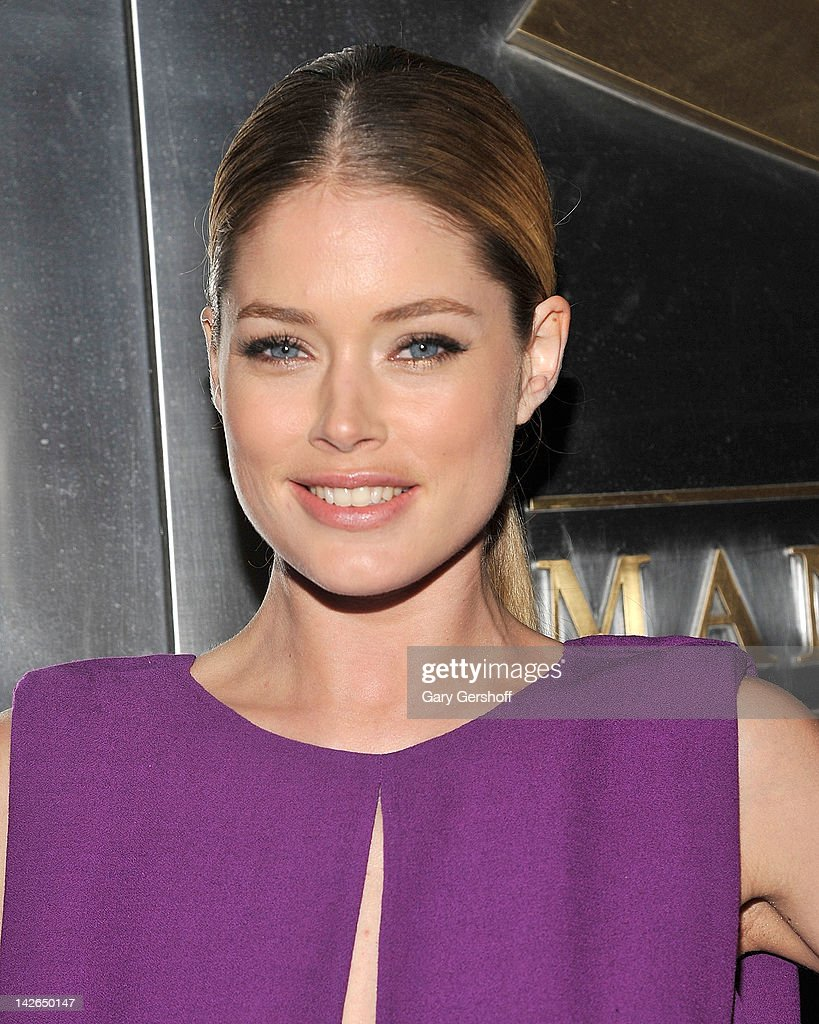 Model/actress Doutzen Kroes attends the 9th annual Spring Dinner Dance New Year's In April: A Fool's Fete at the Mandarin Oriental Hotel on April 10, 2012 in New York City.