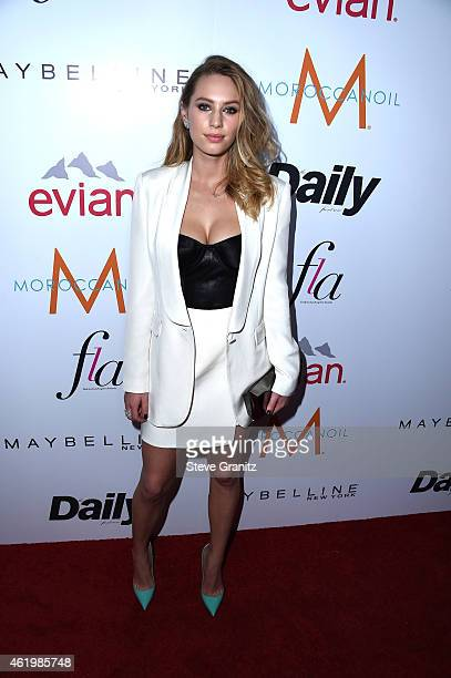 Model/actress Dylan Penn attends The Daily Front Row's 1st Annual Fashion Los Angeles Awards at Sunset Tower Hotel on January 22 2015 in West...