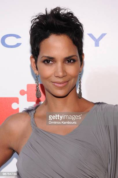 Model/actress Halle Berry attends DKMS' 4th Annual Gala Linked Against Leukemia at Cipriani 42nd Street on April 29 2010 in New York City