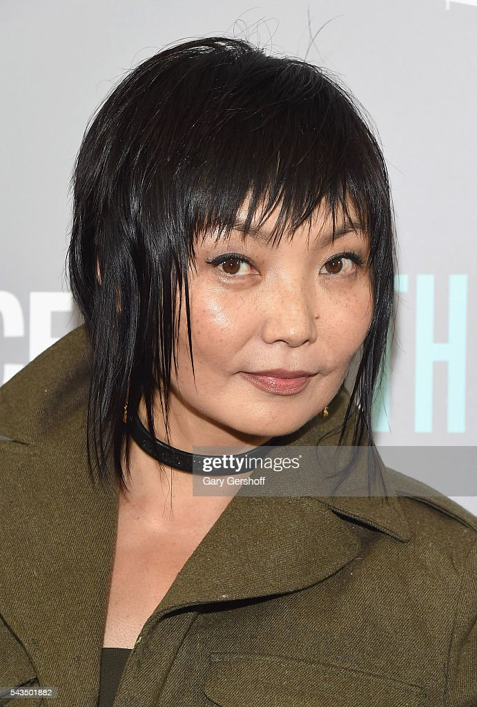 Model/actress Irina Pantaeva attends 'The A Word' New York screening at Museum Of Arts And Design on June 28, 2016 in New York City.