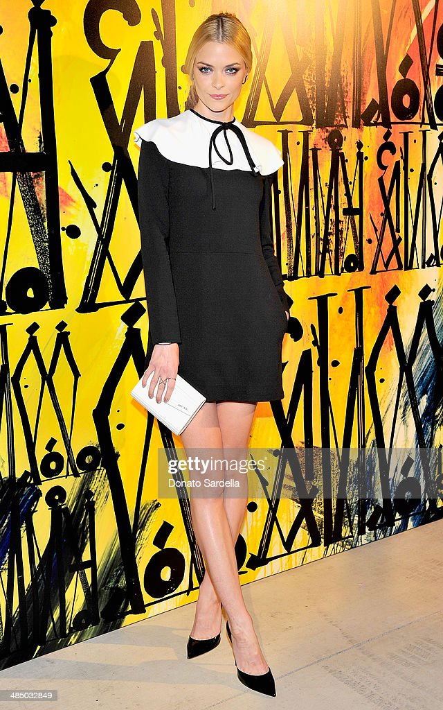 Model-actress <a gi-track='captionPersonalityLinkClicked' href=/galleries/search?phrase=Jaime+King+-+Actress&family=editorial&specificpeople=206809 ng-click='$event.stopPropagation()'>Jaime King</a> attends Launch Of CHOO.08 hosted by Jimmy Choo's Sandra Choi on April 15, 2014 in Beverly Hills, California.