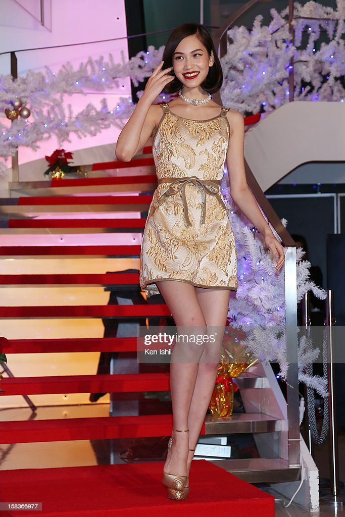 Model/Actress Kiko Mizuhara attends the 54th Fashion Editors Club of Japan Awards at Mercedes-Benz Connection on December 14, 2012 in Tokyo, Japan.