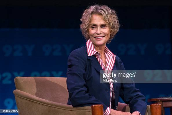 Model/Actress Lauren Hutton attends the 92nd Street Y 'Fashion Icons With Fern Mallis' Presents Lauren Hutton at 92nd Street Y on May 14 2014 in New...