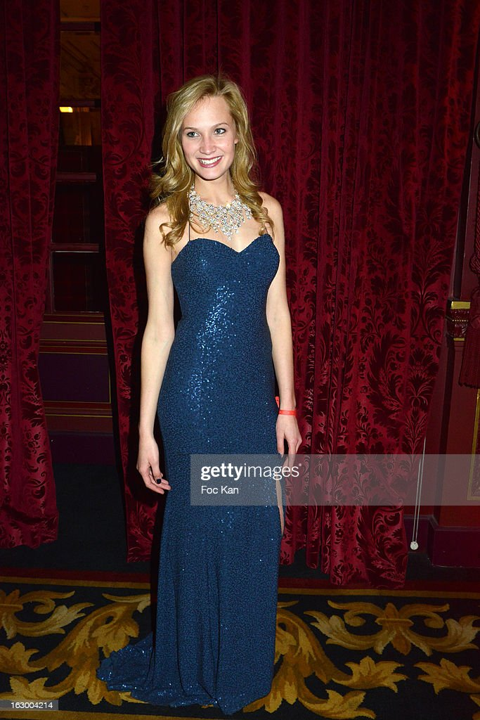 Model/actress Marine Paquet attends the 'Don't Tell My Booker' Supports La Croix Rouge Dinner - PFW F/W 2013 at the Hotel Intercontinental on March 2nd, 2013 in Paris, France.