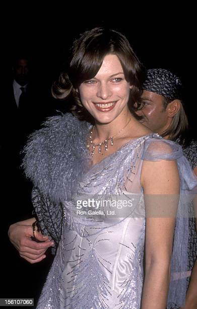 Model/Actress Milla Jovovich attends the 'Grand Opening of the Christian Dior Boutique' on December 4 1999 at Christian Dior Boutique on 21 Est 57th...