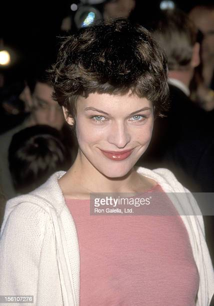 Model/Actress Milla Jovovich attends the 'Never Been Kissed' Hollywood Premiere on March 30 1999 at Mann's Chinese Theatre in Hollywood California