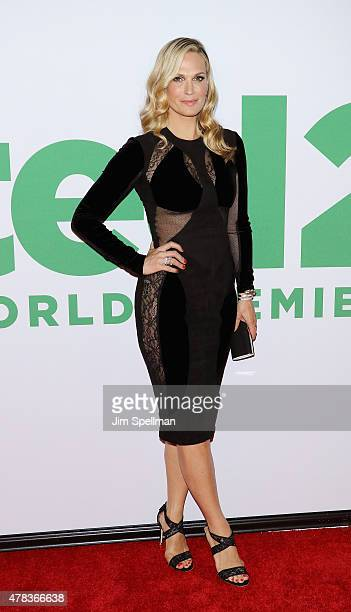 Model/actress Molly Sims attends the 'Ted 2' New York premiere at Ziegfeld Theater on June 24 2015 in New York City