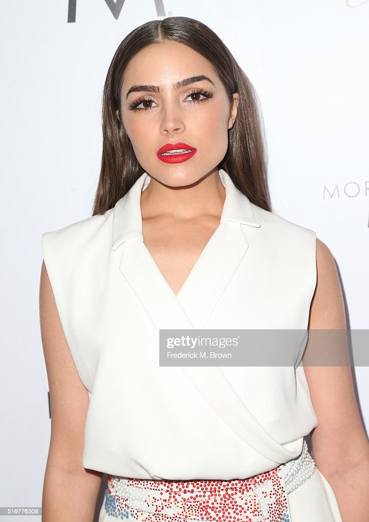 Model/actress Olivia Culpo attends the Daily Front Row 'Fashion Los Angeles Awards' at Sunset Tower Hotel on March 20, 2016 in West Hollywood, California.