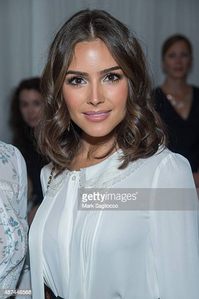 Model/Actress Olivia Culpo attends the Lauren Conrad Spring 2016 during New York Fashion Week at Skylight Modern on September 9 2015 in New York City