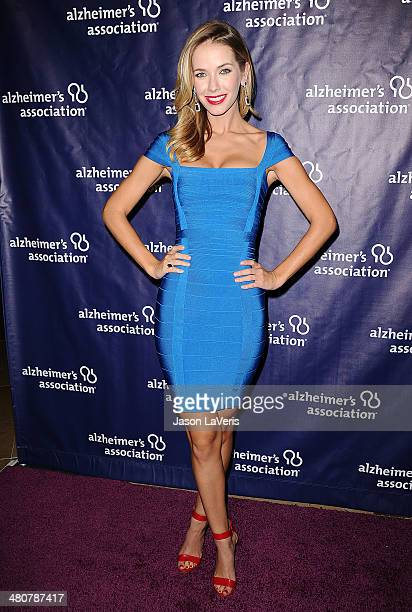 Model/actress Olivia Jordan attends the 22nd 'A Night At Sardi's' at The Beverly Hilton Hotel on March 26 2014 in Beverly Hills California