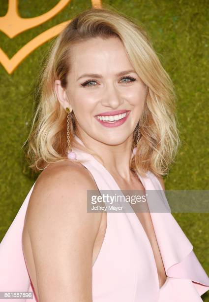 Model/actress Shantel VanSanten attends the 8th Annual Veuve Clicquot Polo Classic at Will Rogers State Historic Park on October 14 2017 in Pacific...