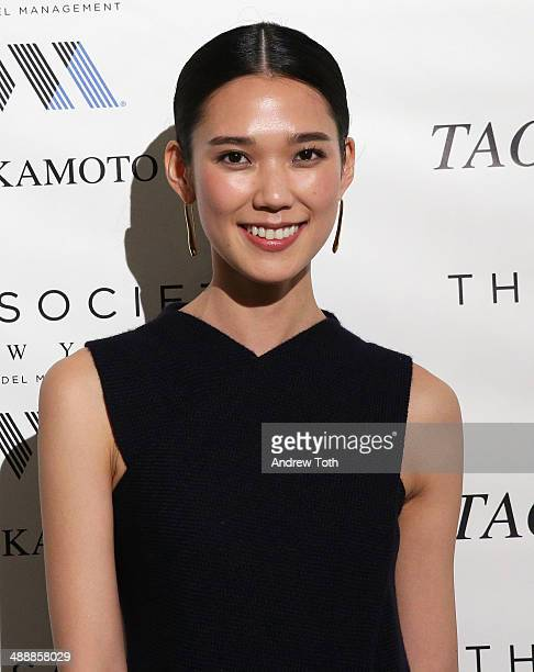 Model/actress Tao Okamoto attends the 'Tao Okamoto 15' Exhibition Opening at Hudson Studios on May 8 2014 in New York City