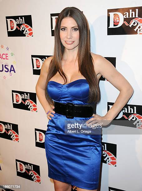Model/actress Tawny Amber Young arrives for 'The Black Dahlia Haunting' DVD Release Party held at The Station Hollywood on October 15 2013 in...