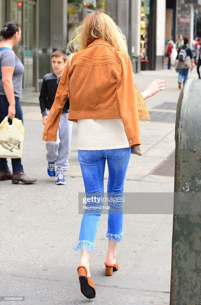 Model/Actress Whitney Port is seen walking in Soho on May 24, 2016 in New York City.
